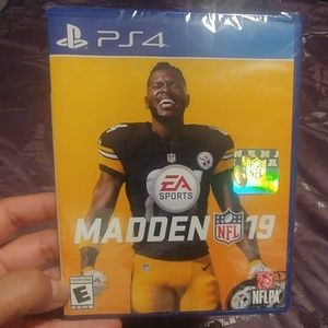 PS4 Madden NFL '19 video game (sealed)